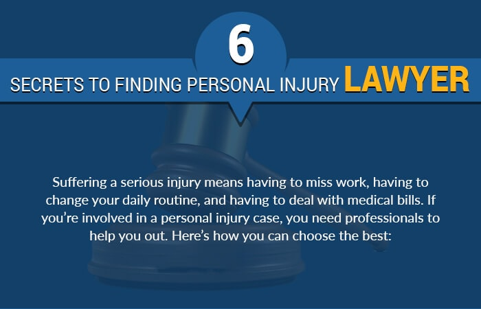 6 Secrets To Finding Personal Injury Lawyer
